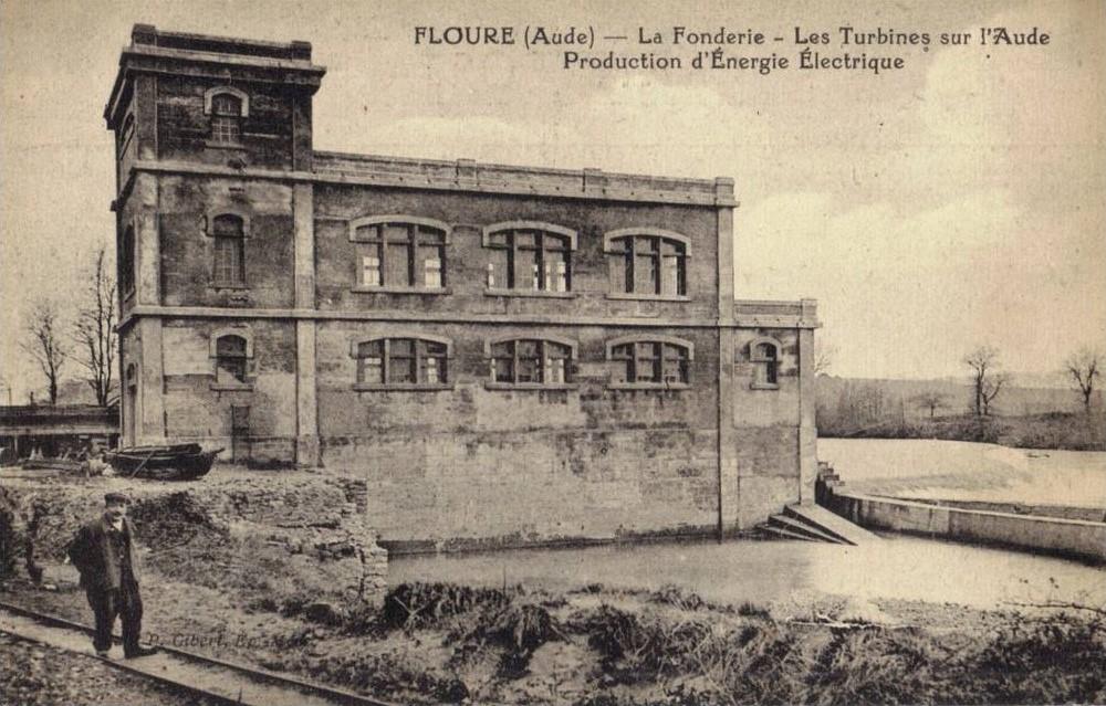 La Fonderie vers 1928.