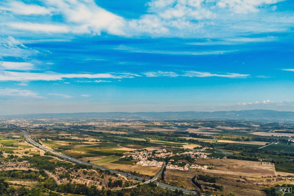 Une vue à couper le souffle depuis la montagne d'Alaric.
