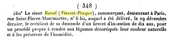 Extrait de la page 348 du Bulletin des lois du Royaume de Françe et de la République Française de 1844.