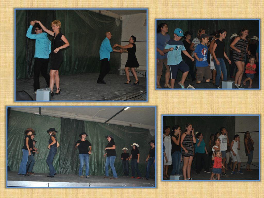 Démonstration de danses de la Cie de Palaja Salsa Piquante, Démonstration et initiation à la danse Country avec Coyotes11