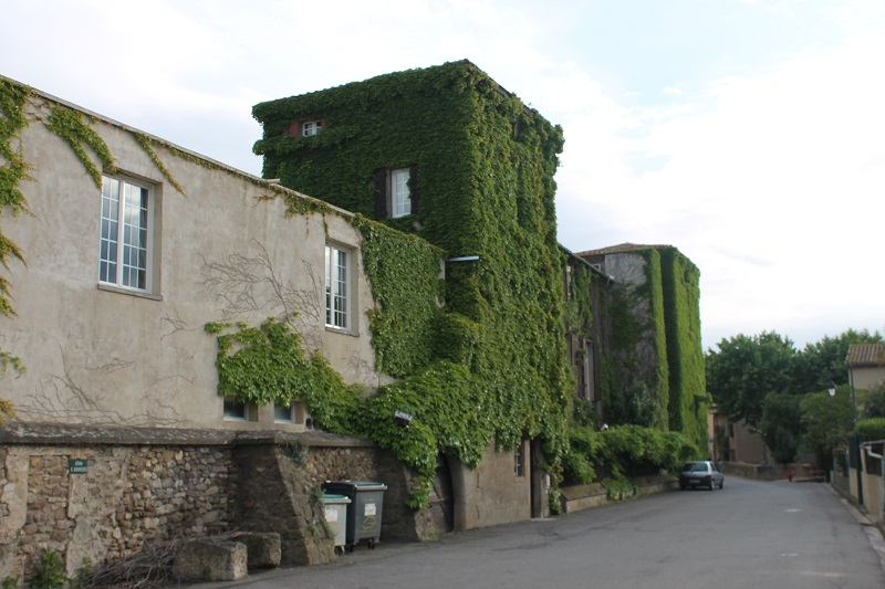 Le château de Floure en 2015.