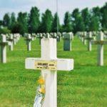 La tombe à la nécropole nationale de Minaucourt-le-Mesnil-lès-Hurlus.