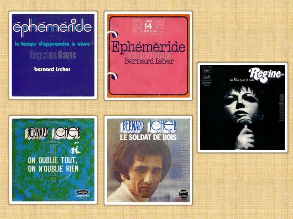 Gaston Bonheur a écrit des paroles de chansons présentes sur huit 45 tours. Mireille Mathieu, Bernard Icher en passant par Régine...